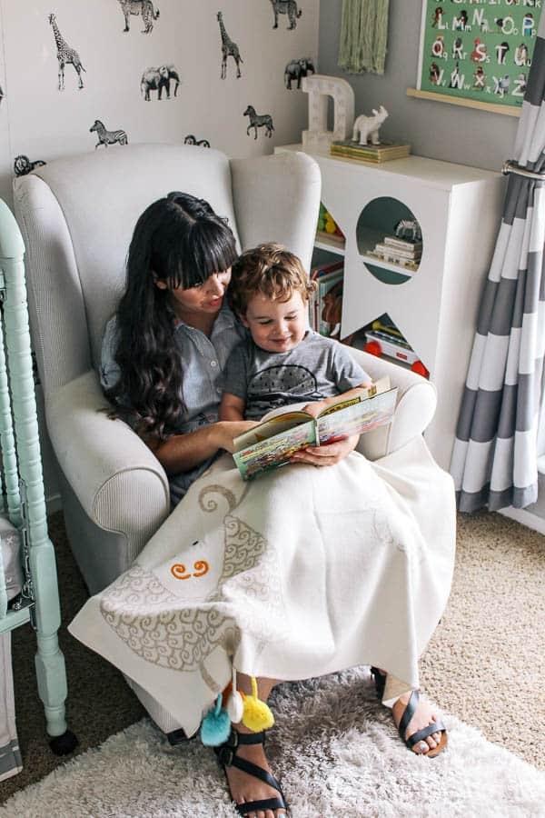 Easy kids Ikea Avdala Bookcase Hack Idea - house