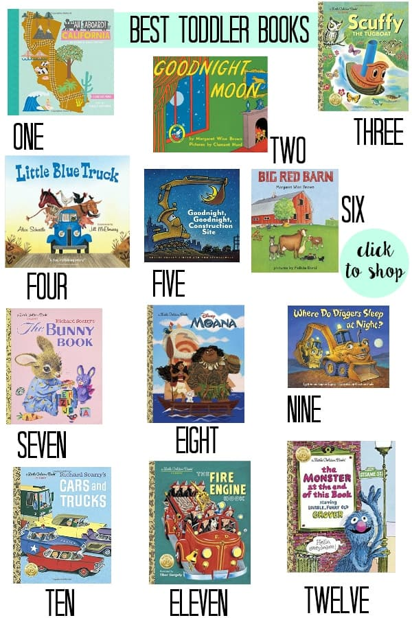 the best toddler books