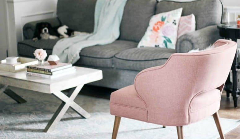 Living Room Refresh- Tips on Choosing an Accent Chair