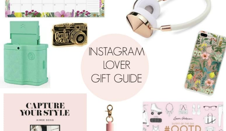 Instagram Lover Gift Guide + My Top Instagram Tips