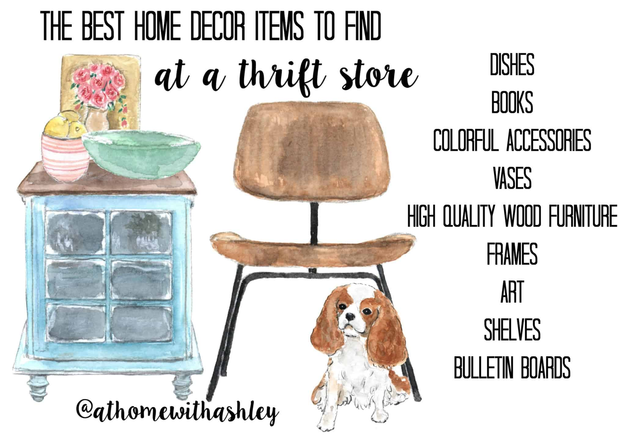 The Best Home Decor Items To Find At A Thrift Store Wide