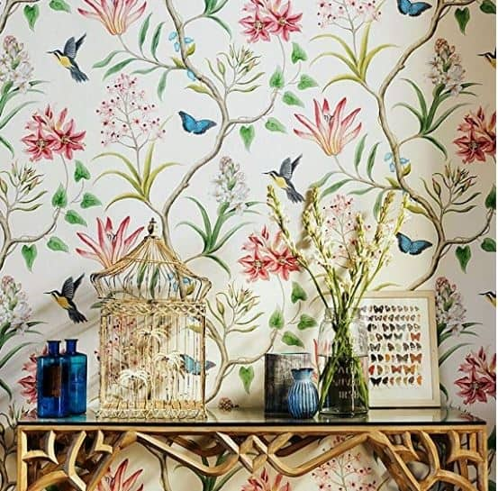 Chinoiserie Removable Wallpaper At Home With Ashley