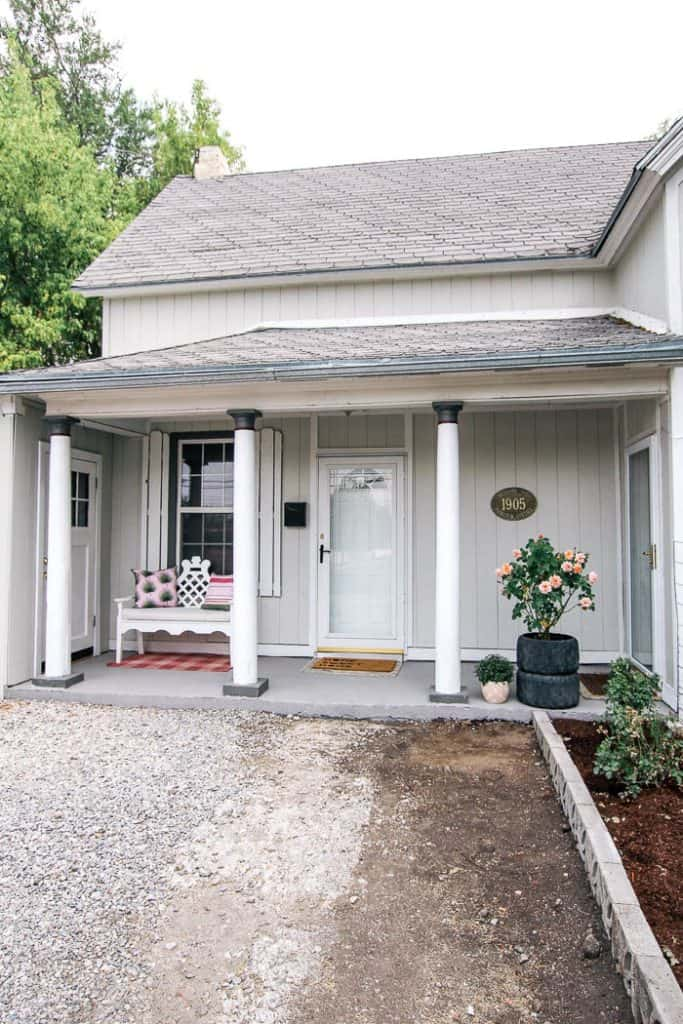 Front Porch Makeover At Home With Ashley