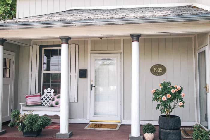 How To Paint Your Front Porch At Home
