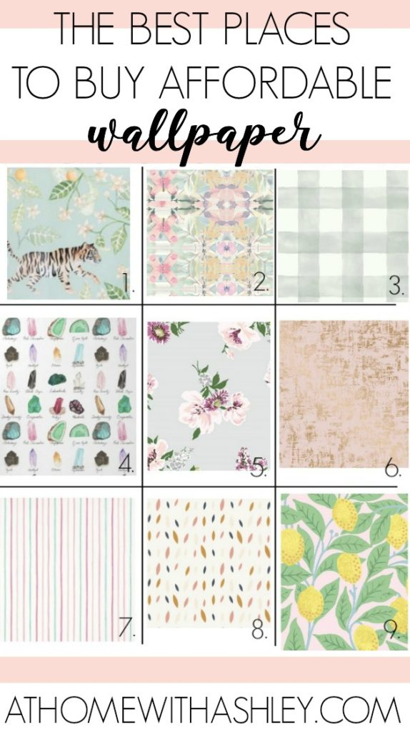 The Most Affordable Places To Buy Wallpaper At Home With Ashley