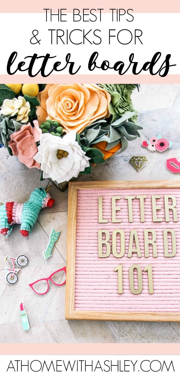 Pin Image The Best Tips And Tricks For Letter Boards