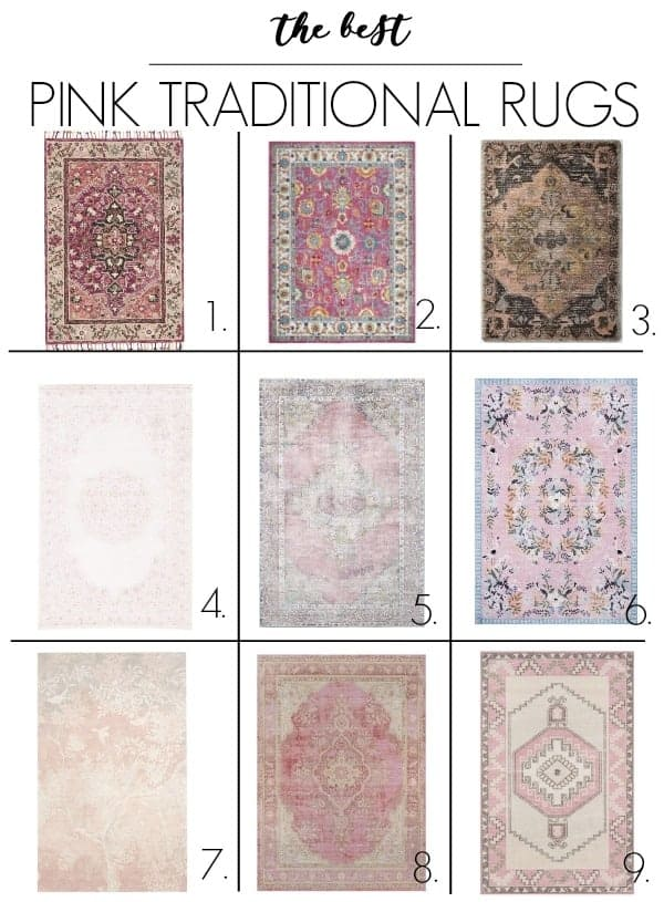 The Best Pink Rugs At Home With Ashley