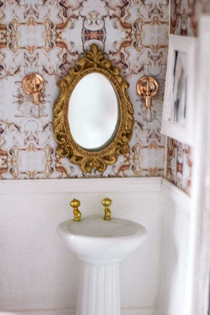 Dollhouse Bathroom At Home With Ashley