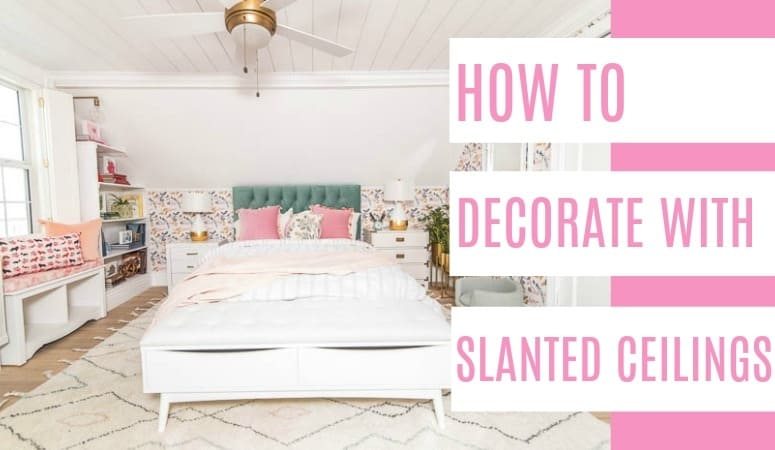 Decorating With Slanted Ceilings At Home With Ashley