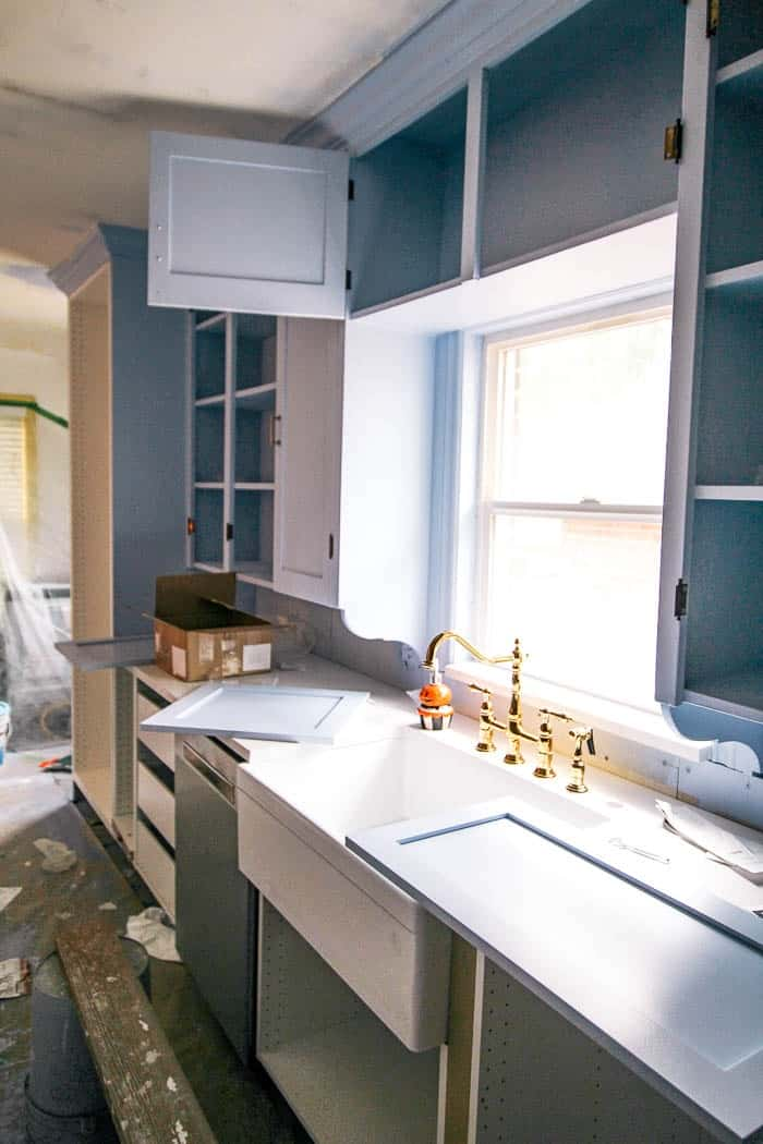 How To Paint Kitchen Cabinets With A Paint Sprayer At Home With