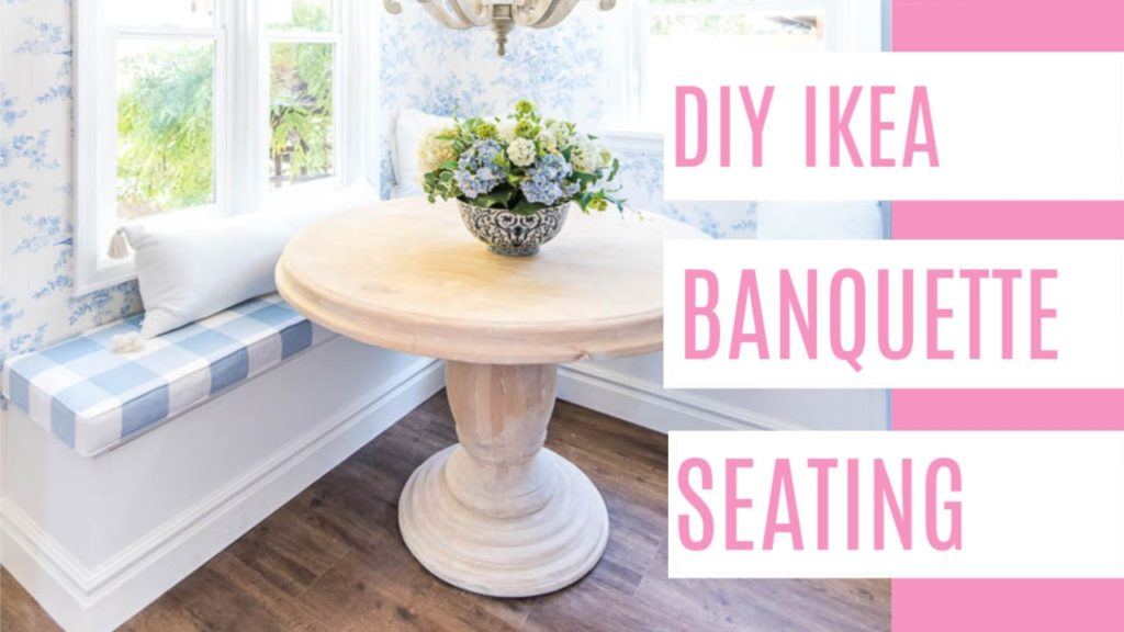 Picture of: Ikea Hack Banquette Seating At Home With Ashley