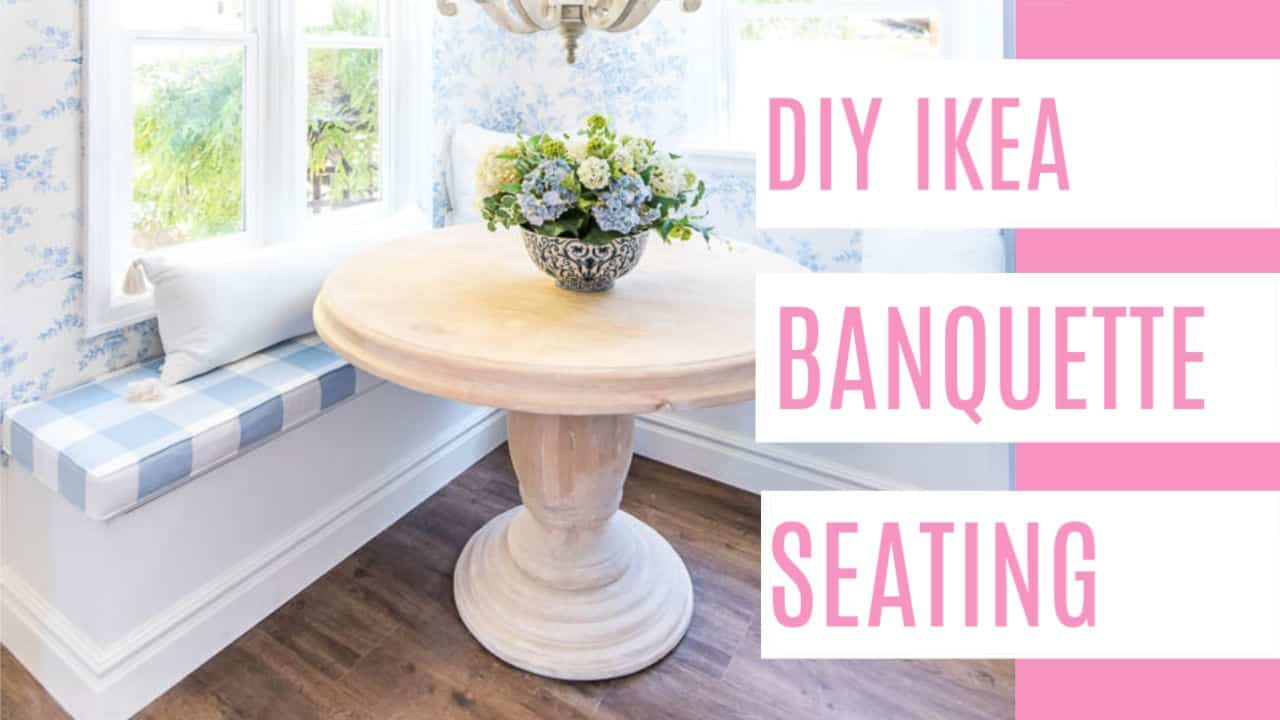 Ikea Hack Banquette Seating At Home
