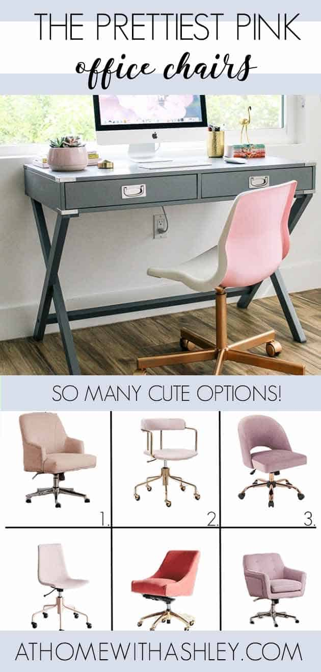 The Prettiest Pink Office Chairs At Home With Ashley