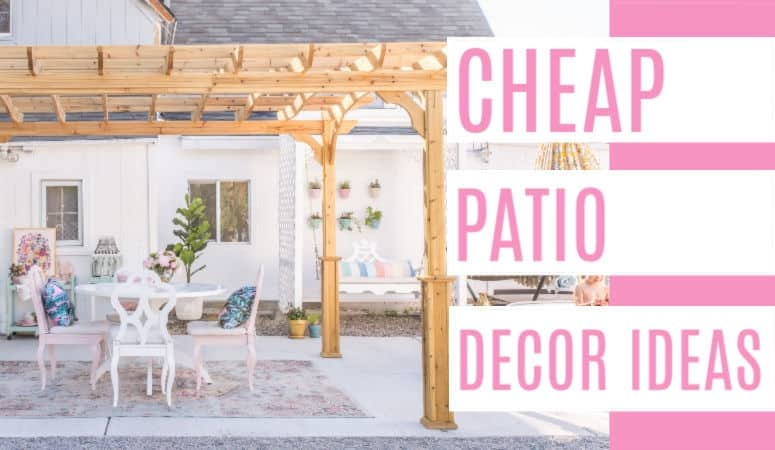 Ideas For How To Decorate A Patio For Cheap At Home With Ashley