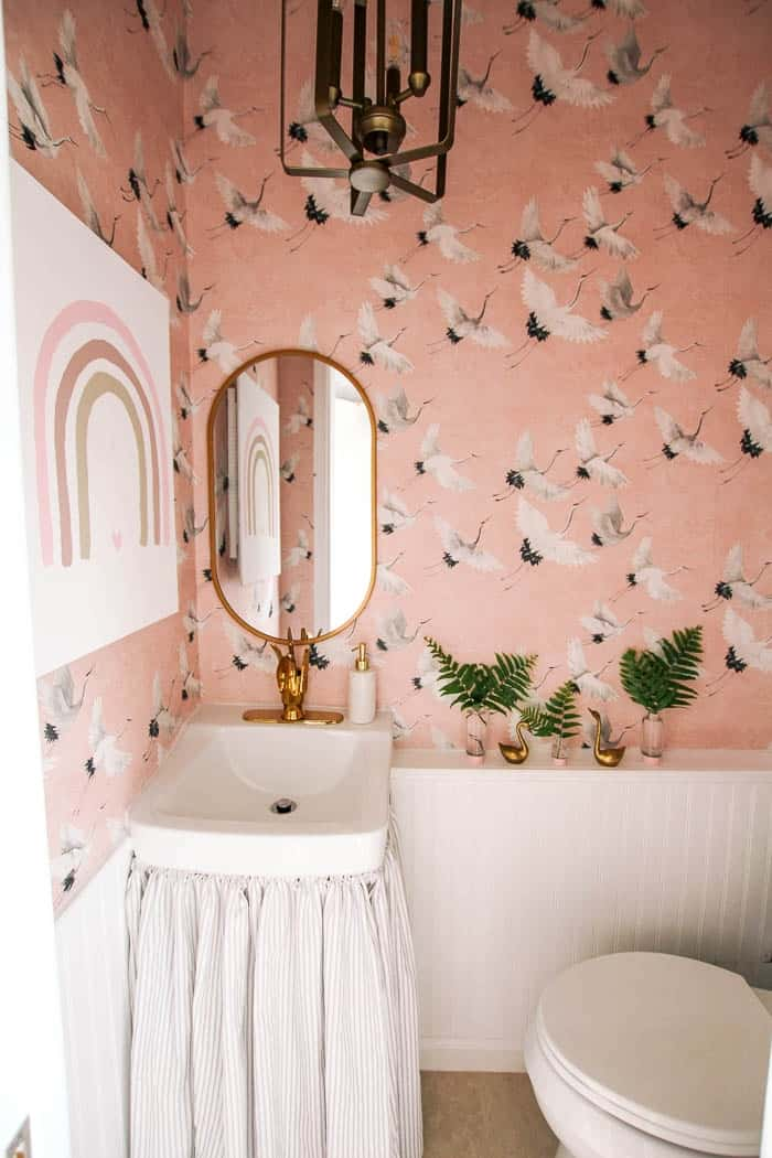 Powder room makeover_8106 - at home with Ashley