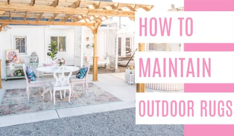 How To Clean An Outdoor Rug Round Up